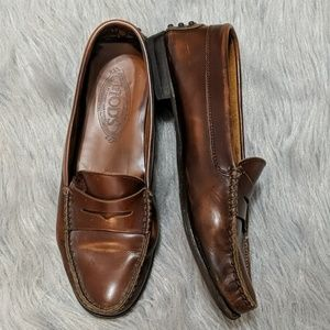 Tods Gommini Leather driving Loafers